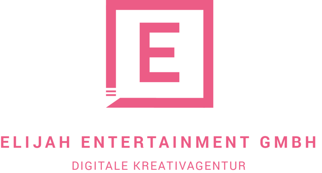 Elijah Entertainment Logo Pink