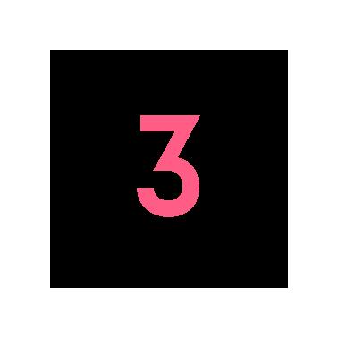 Zahl Nummer 3