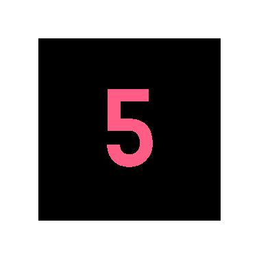 Zahl Nummer 5