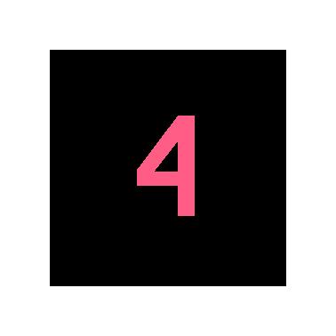 Zahl Nummer 4