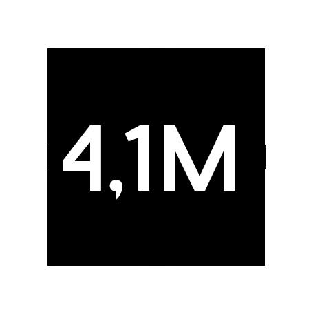 4,1Millionen