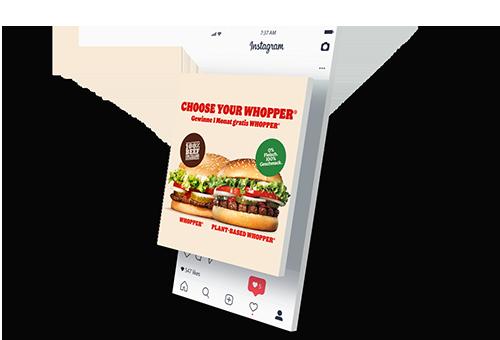 Burgerking Instagram Post