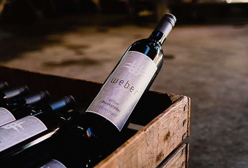 Weingut Weber Flasche
